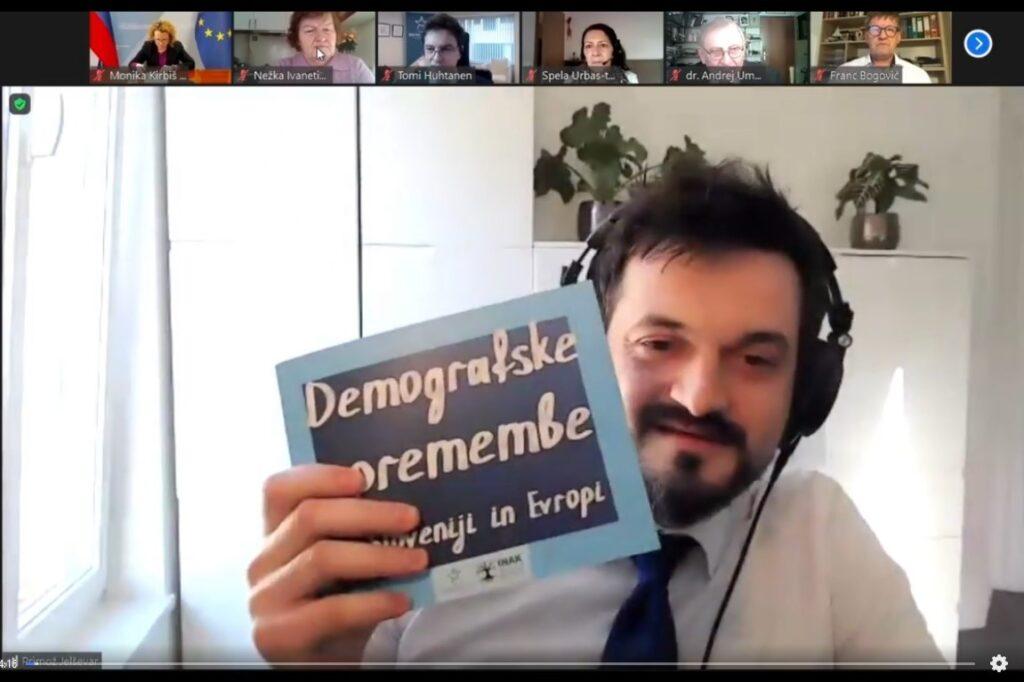 Primož Jelševar, direktor INAK-a Vir slike: posnetek zaslona INAK: